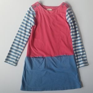 Mini Boden Dress with Pockets 6-7